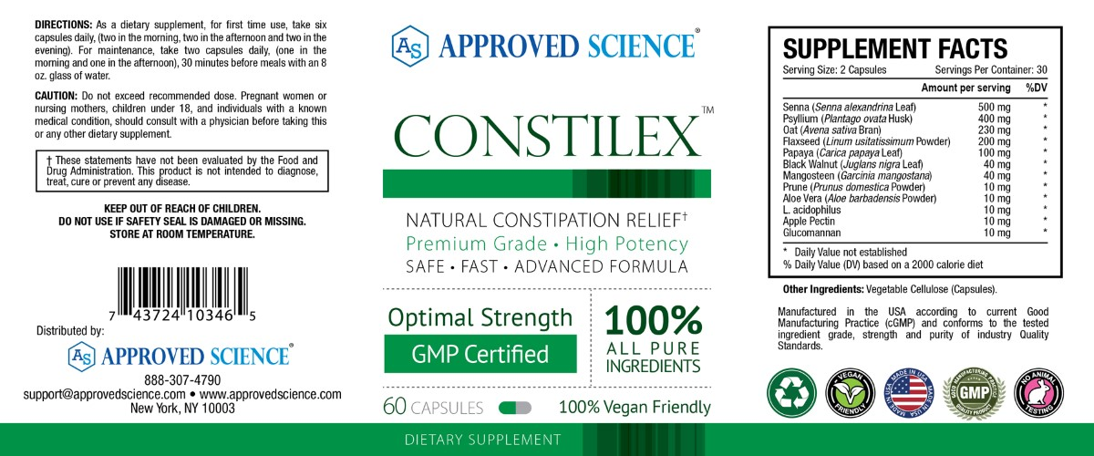 Constilex Supplement Facts